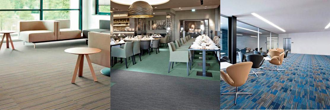 Ejemplo de utilización de pavimento textil