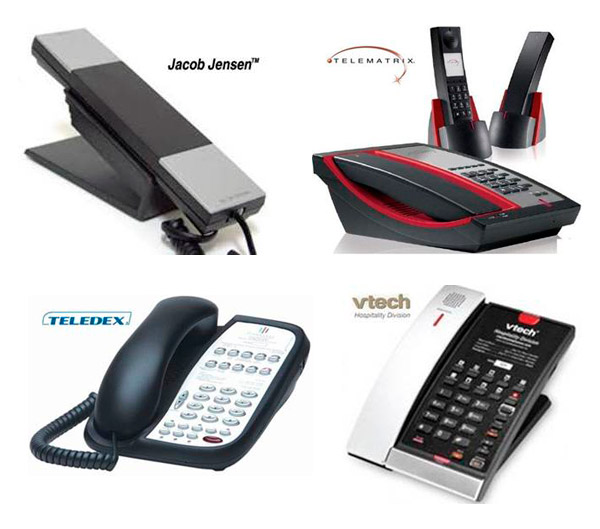 Telefonos personalizables para hoteles